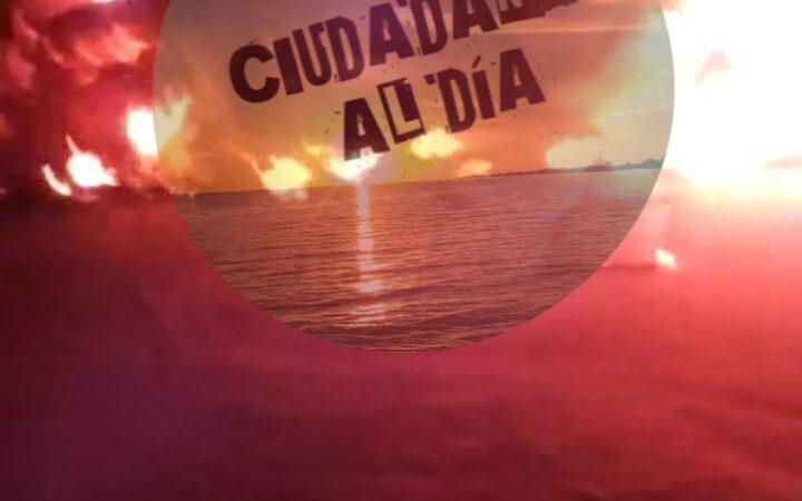 (video) SE INCENDIA CAMIONETA DE UN EX MAGISTRADO EN SANTA CLARA
