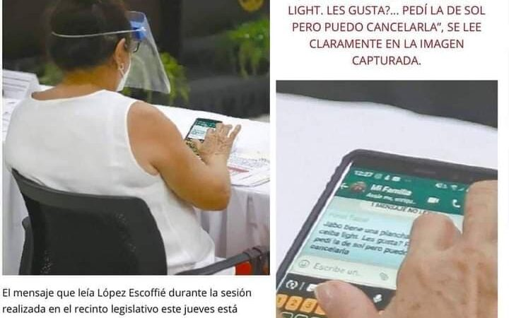 Diputada de Movimiento Ciudadano compró cerveza clandestina mientras sesionaba en el congreso de Yucatán