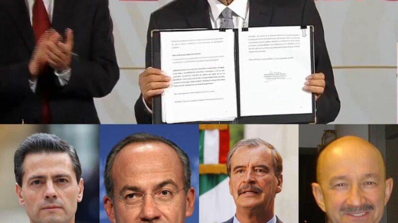 Es constitucional la consulta sobre juicio a expresidentes, SCJN