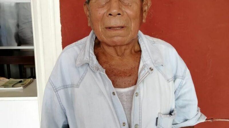 Abuelito Cansahcabeño perdió el dinero de su pensión en Motul