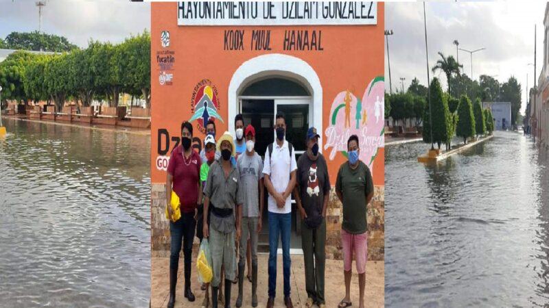 Ciudadanos se quejaron de la mala administración del alcalde de Dzilam González