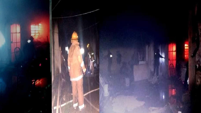 Bomberos rescataron a un comerciante de morir quemado en Valladolid