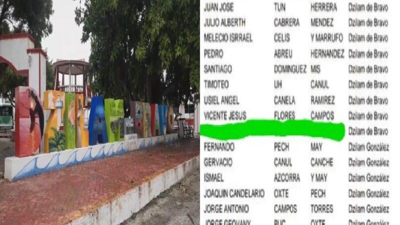 """Empleados de la comuna de Dzilam de Bravo cobraron 7 000 pesos del programa federal """"Bien pesca"""