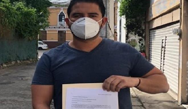 """""""El MC filiar del PRI"""", Javier Osante renunció al PRI y engroso las filas de MC"""