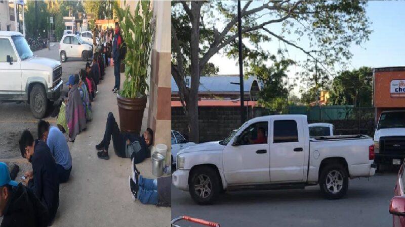Siguen los acarreos políticos en los modulo del INE en Yucatán, denuncian