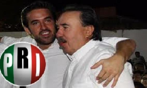 Gracias a su padre Pablo Gamboa será candidato pluri del PRI