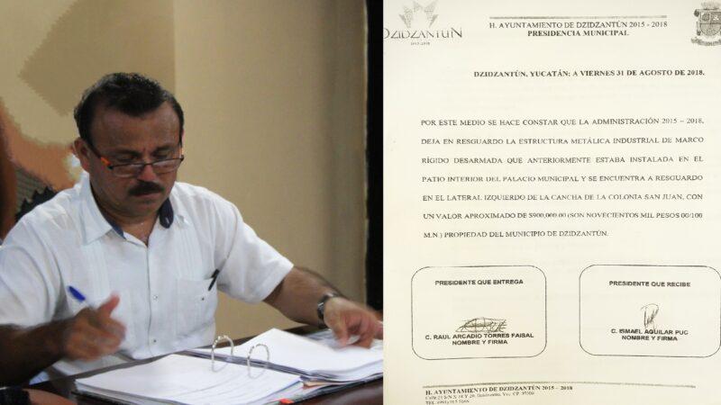 Alcalde de Dzidzantún vende un domo, 800 mil pesos por debajo de su valor