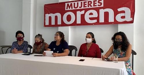 No queremos a Verónica, a Enrique ni a Carlos, afirman mujeres de MORENA