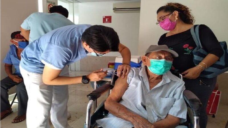 Intensa semana de vacunación contra el Covid-19 en Motul