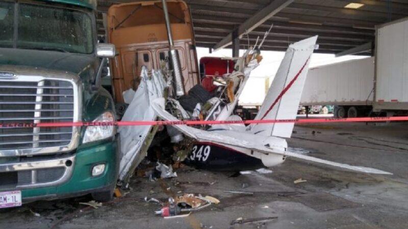 Se desploma una avioneta en Nuevo León, hay seis muertos y un herido