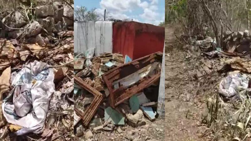 Foco de infección en Kiní, ataúdes tirados en la vía pública