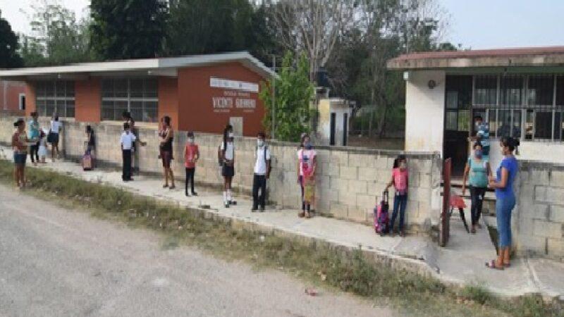 Cierran escuela en Campeche por caso positivo de COVID-19