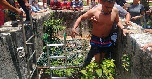 Por terco un chilango paso a morir ahogado en el cenote Sambulá de Motul