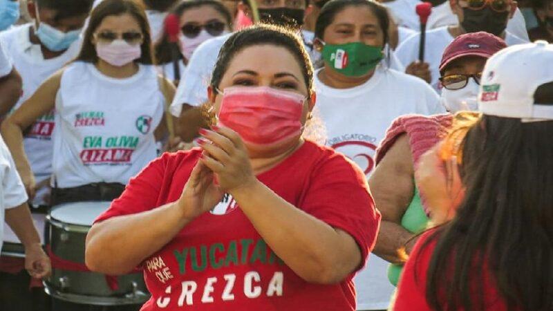 La Priista Liliana Araujo quedo fuera del congreso, IEPAC