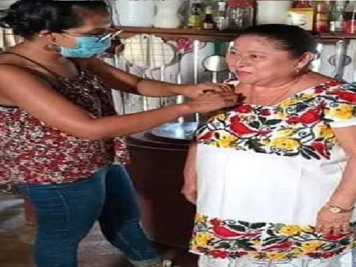 """Cocinera maya en la final del Concurso Nacional """"A Qué Sabe La Patria"""""""