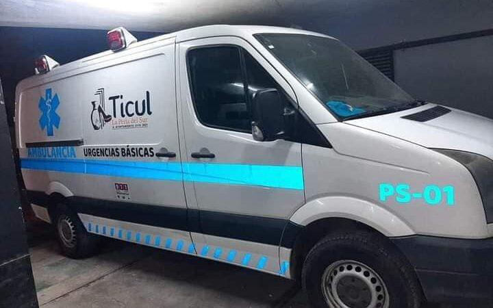 Alcalde anunció equipamiento de otra ambulancia para Ticul y comisarias