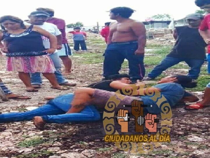 Al menos tres mujeres lesionadas tras disputa de terrenos en Flamboyanes