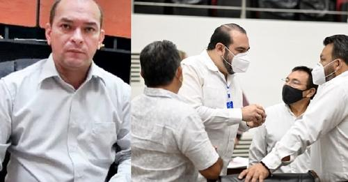 El PRI consuma la infamia de ratificar y hacer inamovible al corrupto César Antuña