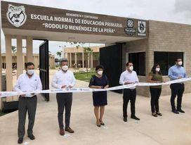 """Mauricio Vila entrega el nuevo plantel de la Escuela Normal de Educación Primaria """"Rodolfo Menéndez de la Peña"""""""