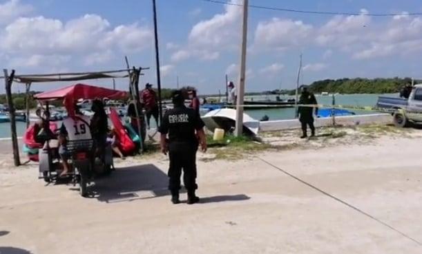Encuentran al Buho muerto y flotando en la escollera de Chuburná en Progreso.