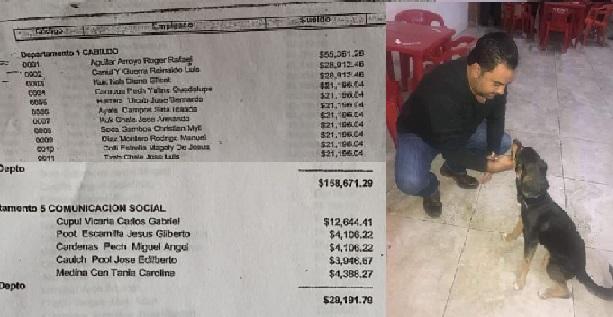 30 mil pesos al mes la diferencia entre el sueldo de AMLO y del alcalde de Motul