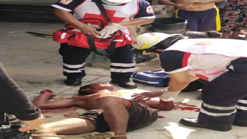 Rata de la comisaria de Flamboyanes recibe tremenda paliza como escarmiento
