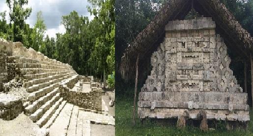 Nuevos hallazgos en la zona arqueológica de Kulubá: Tiene cinco palacios mayas