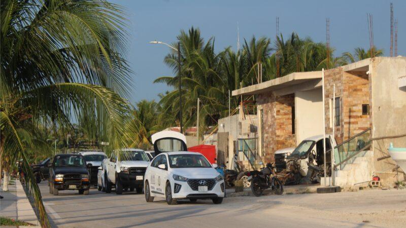 Tres detenidos en Dzilam: La FGR decomisa pulpo y hasta tortugas vivas y una cría de lagarto