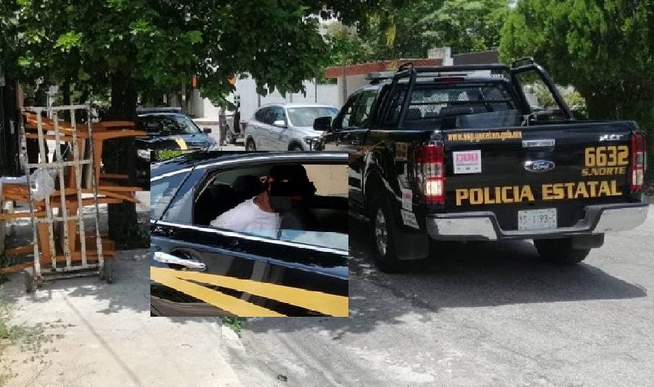 Pescan a un ladrón cuando robaba la casa de su abuela en Prado Norte