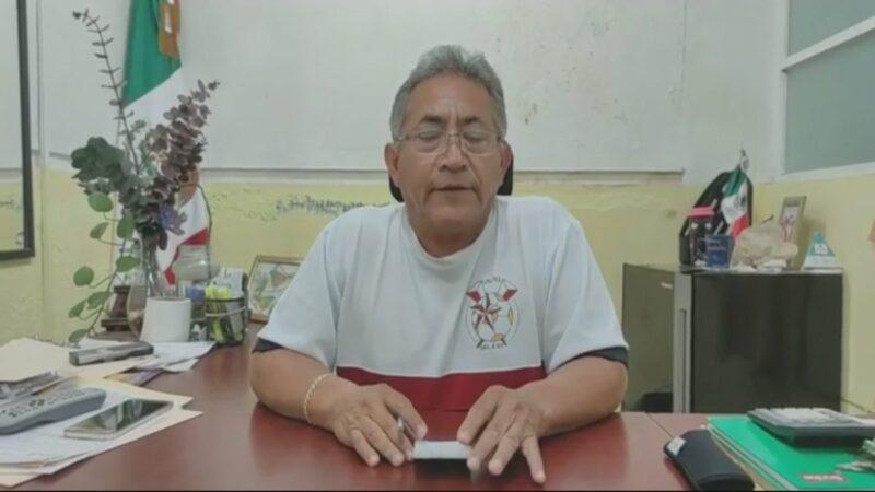 (Video)Tres días sin agua potable, que reclaman si solo 250 personas pagan, dice el alcalde de Cansahcab
