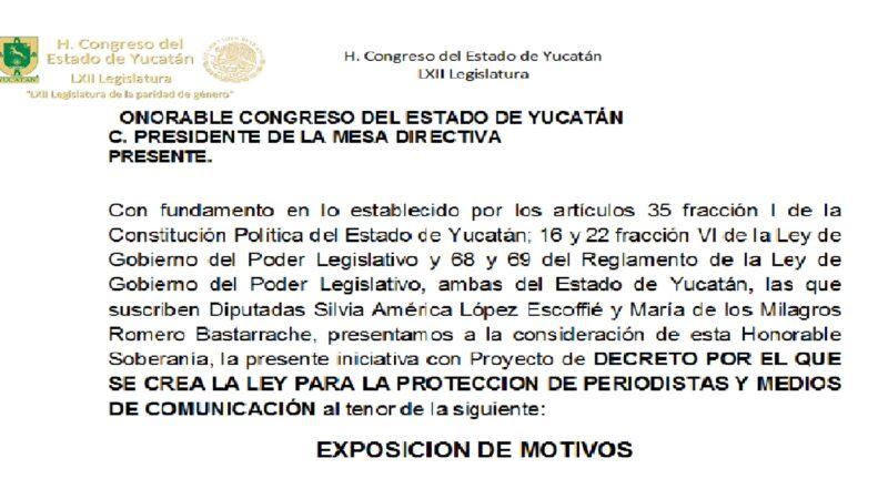 """""""LEY MORDAZA o iniciativa de ley"""", de Silvia López y Milagros Romero"""