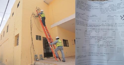 William Pérez no pago 13 millones a la CFE, le cortaron la luz al palacio de Kanasín