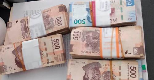 Con casi medio millón de pesos sin comprobar, fue detenida en el Aeropuerto de Mérida
