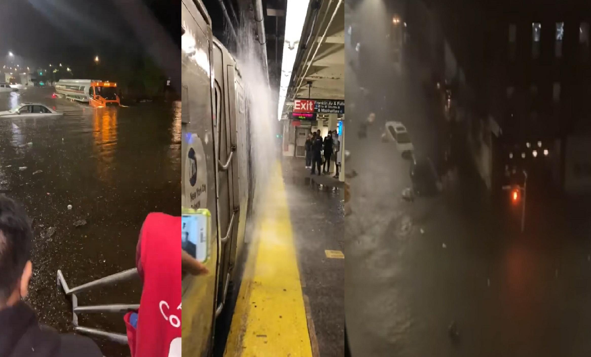 Nueve muertos en Nueva York y Nueva Jersey por torrenciales lluvias