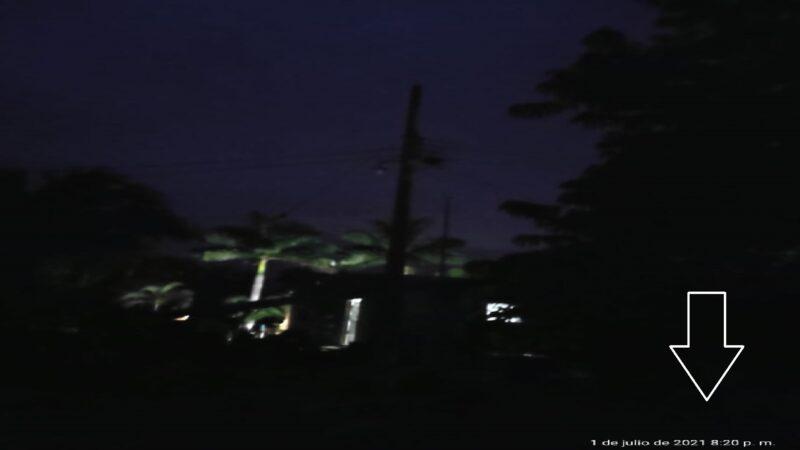 Ismael alcalde rico, pero las calles sin luz en Dzidzantún, casi 80 días sin alumbrado publico