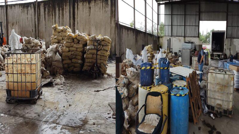 La FGR decomiso casi 35 toneladas de químicos para la elaboración de drogas sintéticas