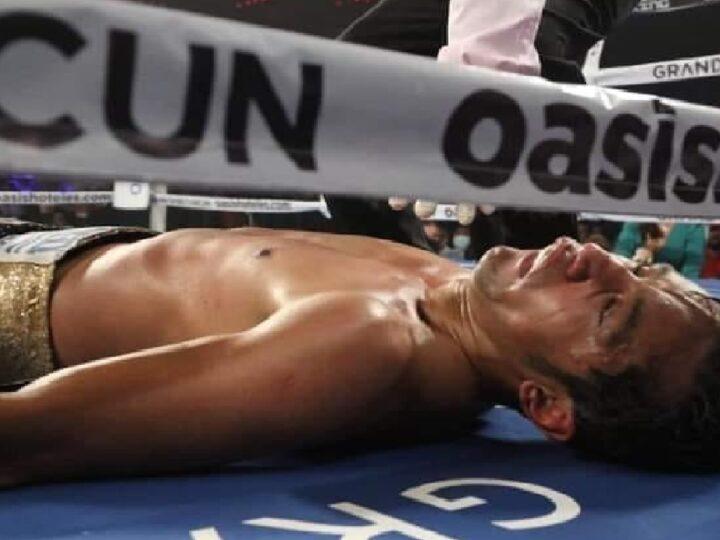 """El """"Moy"""" Fuentes grave tras ser noqueado en la arena Oasis de Cancún"""