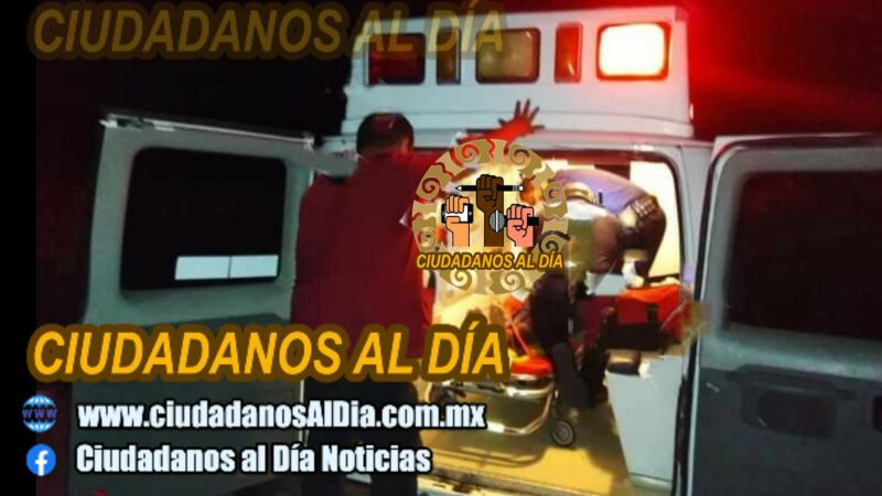 Motociclista grave, se accidentó con un bache en la vía Dzilam González – X'Bec