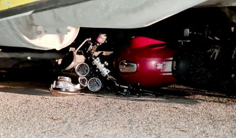 El ebrio Floy de Kinchil, se accidenta en moto por segunda vez en menos de un mes